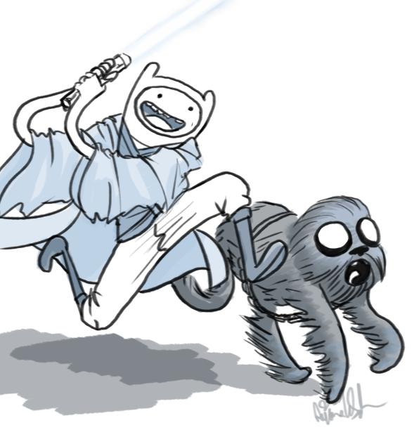 Use the Force Finn by Yanimae