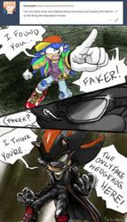 Horrible 90's Attire But it's Sonic Adventure 2 by Yanimae