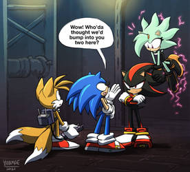 -Shadow and Jolt- Surprised Meeting