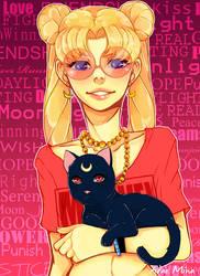 Sailor Hipster Moon