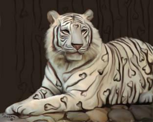 Love Tiger by 4Snowey