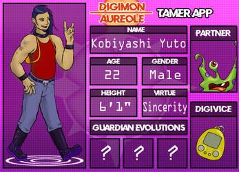 Digimon Aureole - Tamer App Yuto