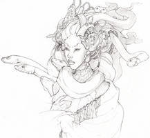 Cyberpunk Asdis by RenrookART