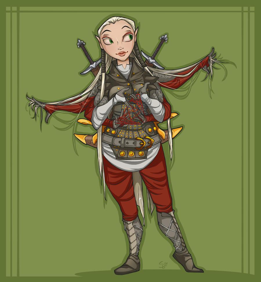 Mayhem RP Character: Yvett by RenrookART