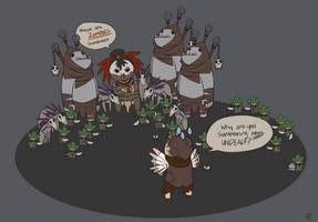Diablo 3, why you so weird? by RenrookART