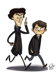 Holmes BBC by happydoodle