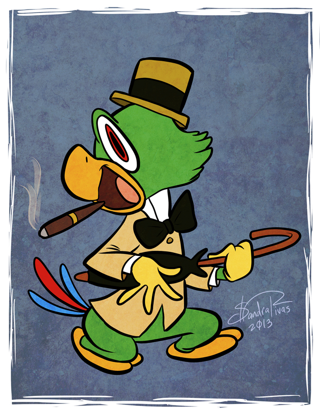 Day 14: Jose Carioca by happydoodle