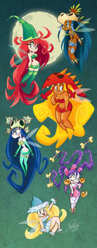 Rayman Origin Nymphs by happydoodle