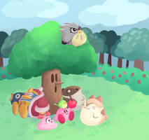 kirby's dreamland 3 agdq 2017 by happydoodle
