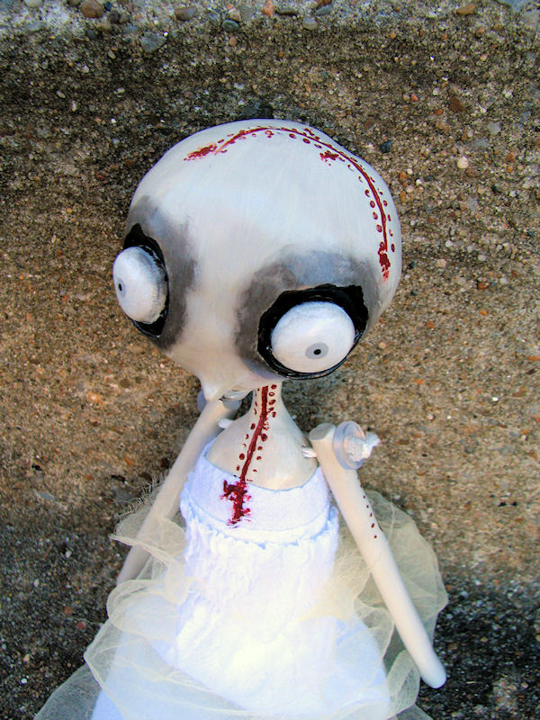 Lorana the Creep art doll 2 by Miss-Millificent