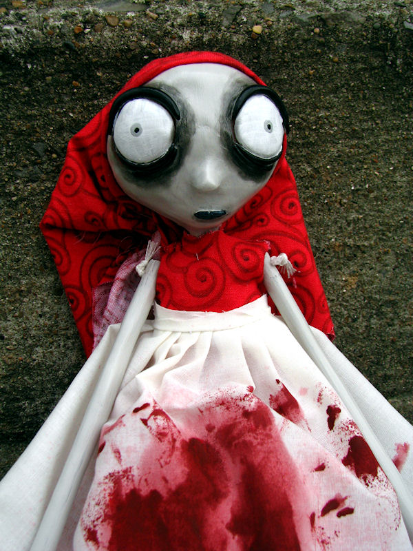 Mariska the Creep art doll by Miss-Millificent