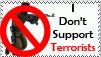 Don't Support Terrorist Stamp by FknSasuke