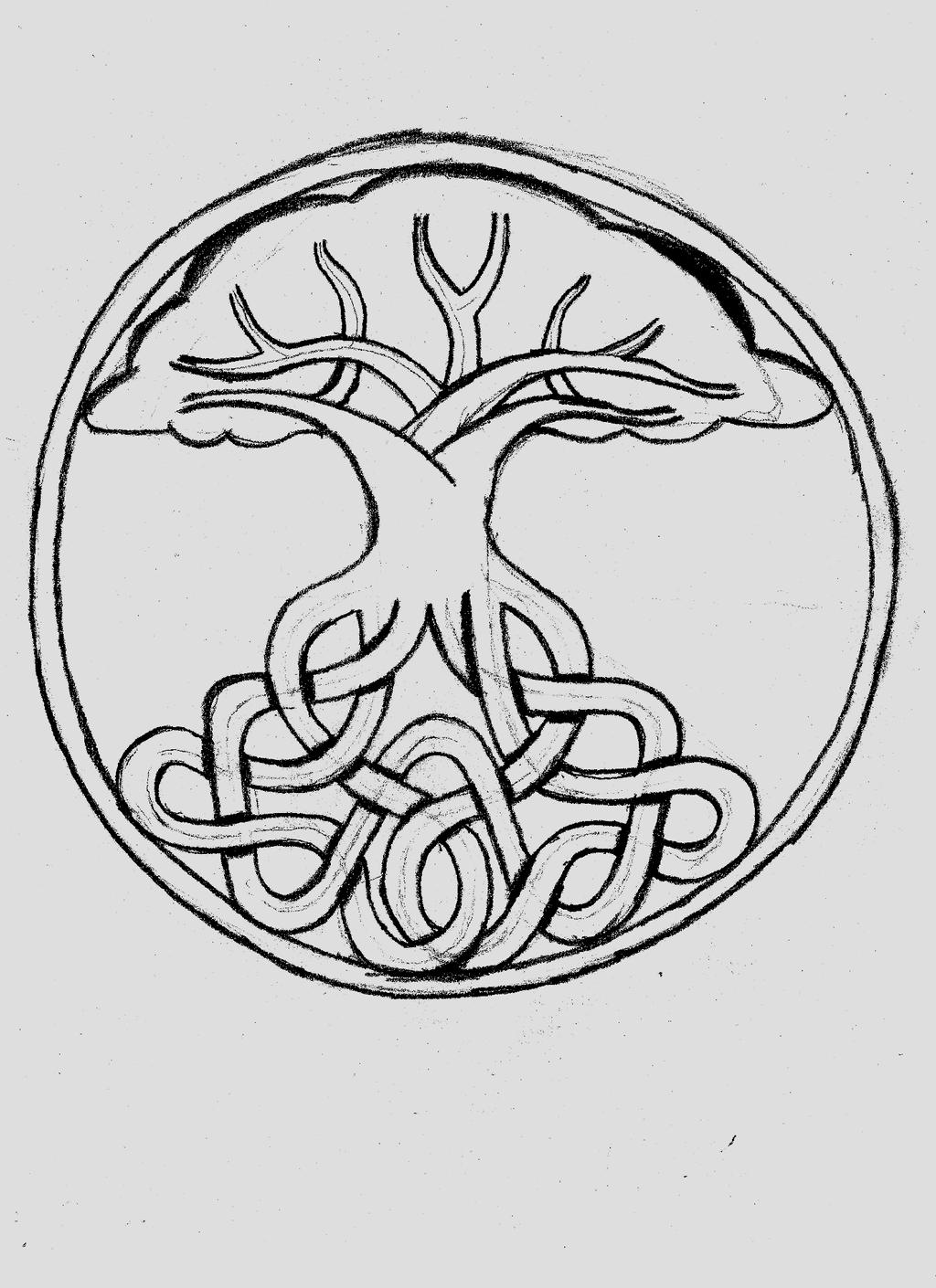 Tree Of Life Sketch By Immortal Lynx On Deviantart