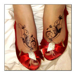 Foot Tattoos by thisisyesterday