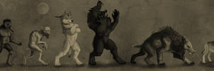 Werewolf Archetypes by OfficerBadger