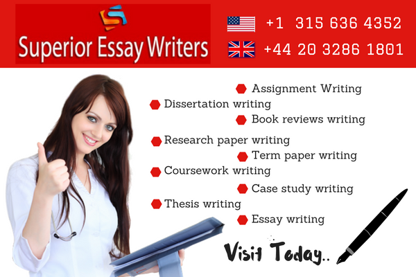 superior essay We have been awarded for being the top most quality academic essay writing services last year and the previous yearwe are proud of this and we look forward to retaining and continue upgrading the status of our clientswe are now offering frees services on revisions of the written essays.