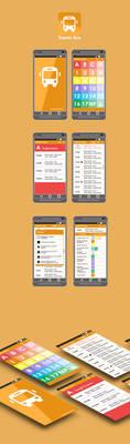 Bus Trento app UI concept