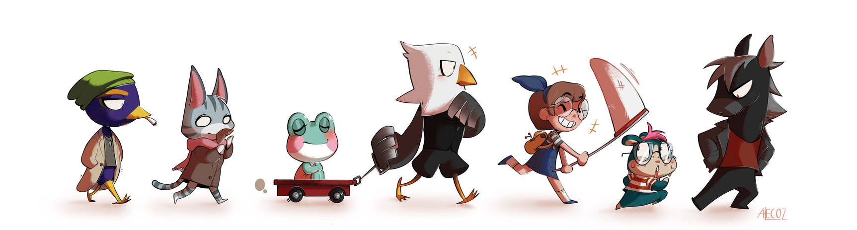 AC - Marching to a new adventure