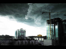 The Storm - Wallpaper by ShonnaTheWhite
