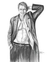 Captain Jack Harkness / John Barrowman Portrait by ShonnaWhite
