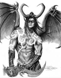 Illidan Stormrage - World of Warcraft by ShonnaTheWhite