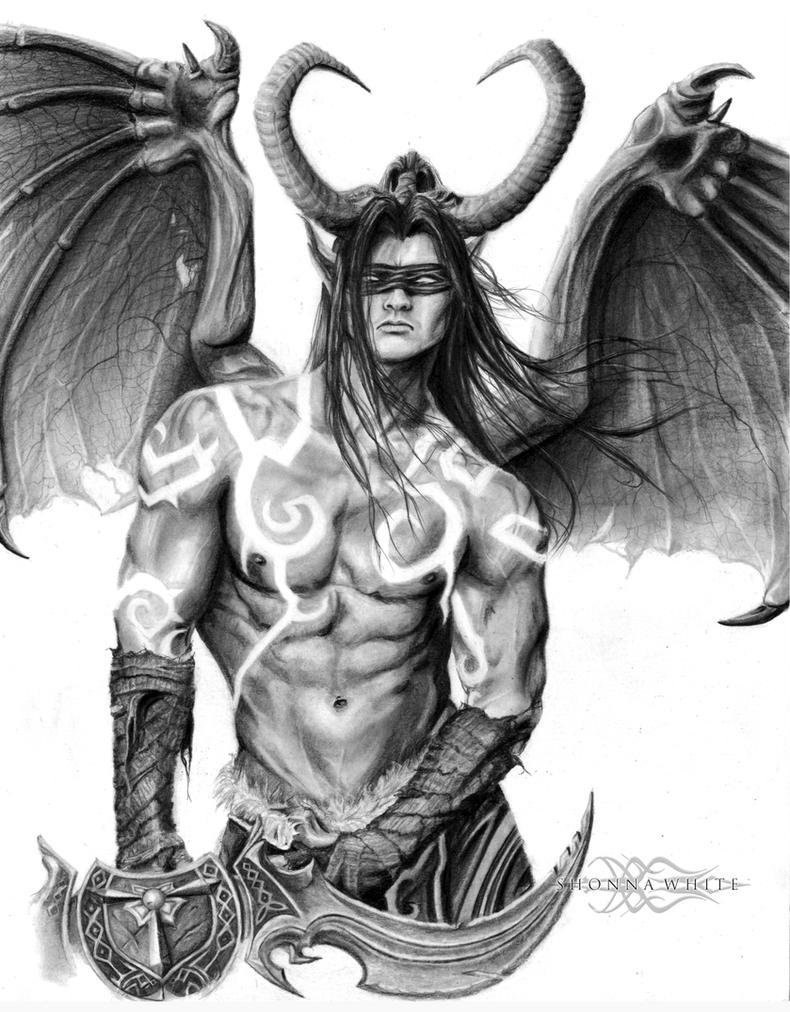 Illidan Stormrage - World of Warcraft by ShonnaWhite