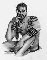 Khal Drogo - Game of Thrones (Jason Momoa) by ShonnaWhite