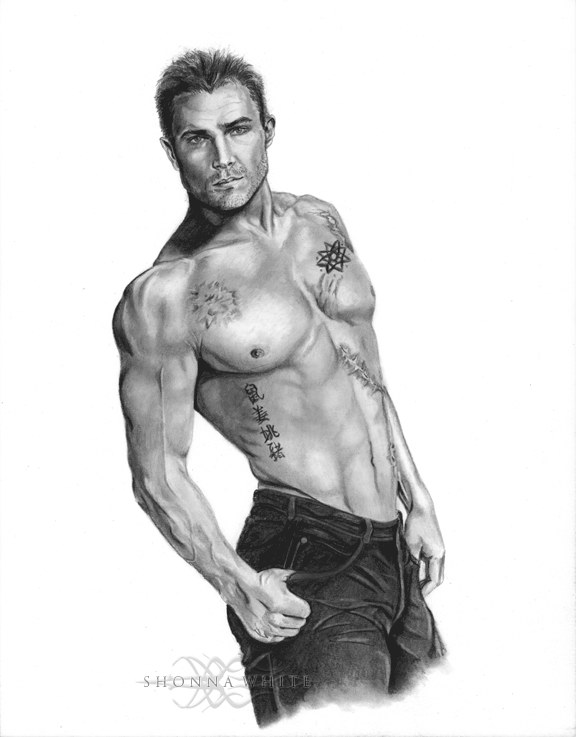 Stephen Amell - Oliver Queen (Arrow) by ShonnaWhite