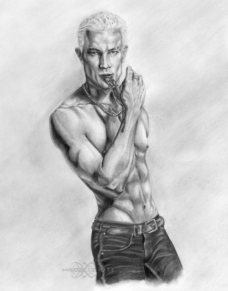 Spike - Buffy The Vampire Slayer / James Marsters by ShonnaWhite