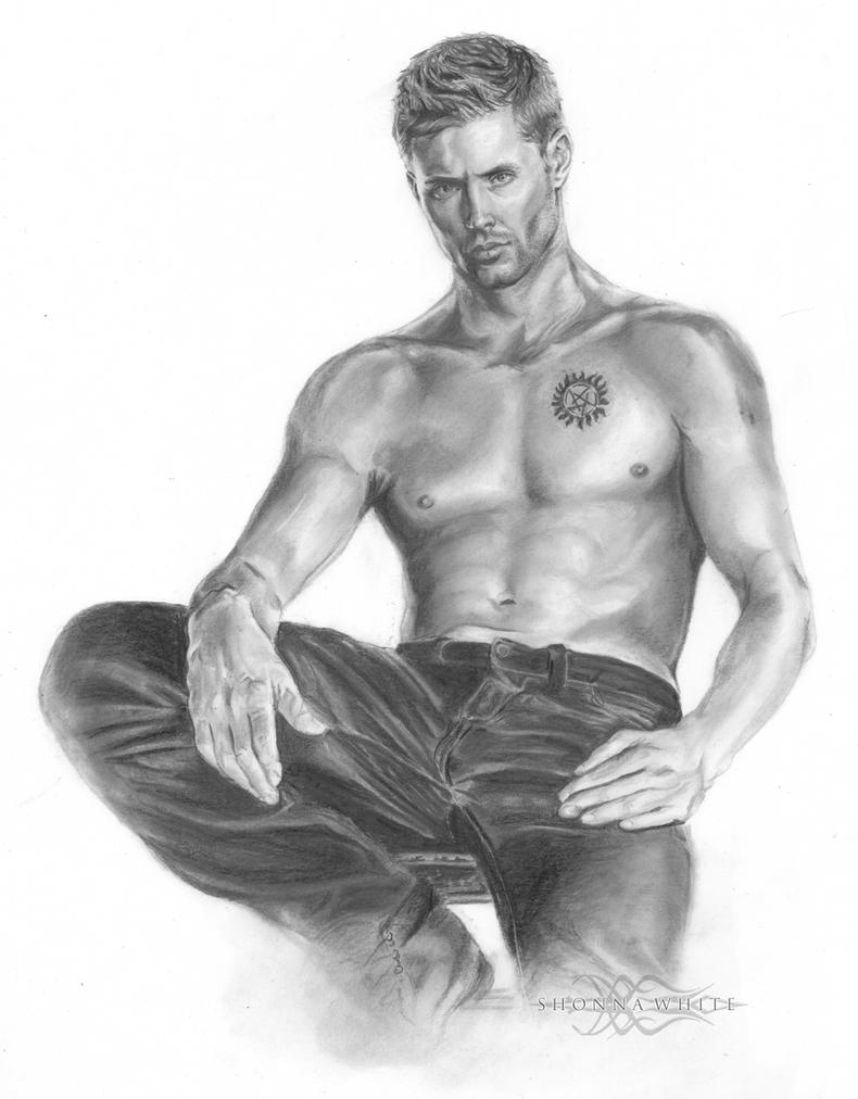 Dean Winchester / Jensen Ackles by ShonnaWhite