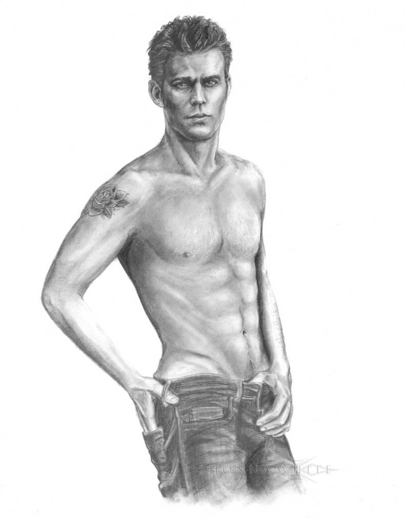 Paul Wesley/Stefan Salvatore - Vampire Diaries by ShonnaTheWhite