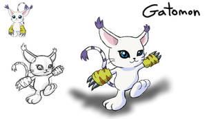 Digimon- Gatomon
