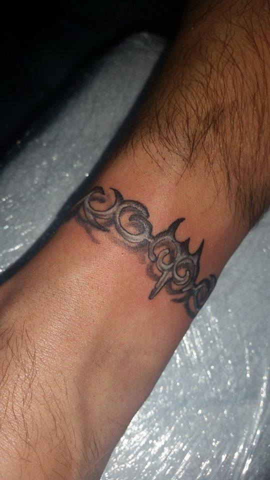 My wrist tattoo by Ghost8969