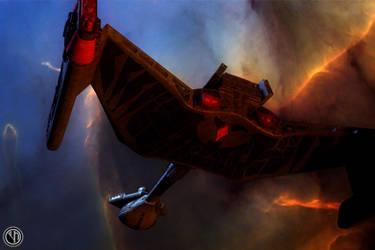 Klingon Battlecruiser by niklasindustry