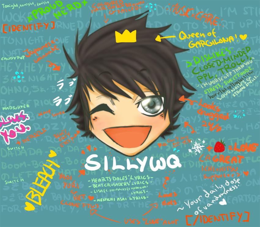 -IDENTIFY- by SillyWQ