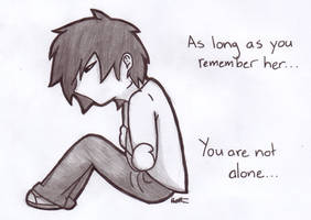 RvB - You are not alone (Pencil and Ink) by liriana
