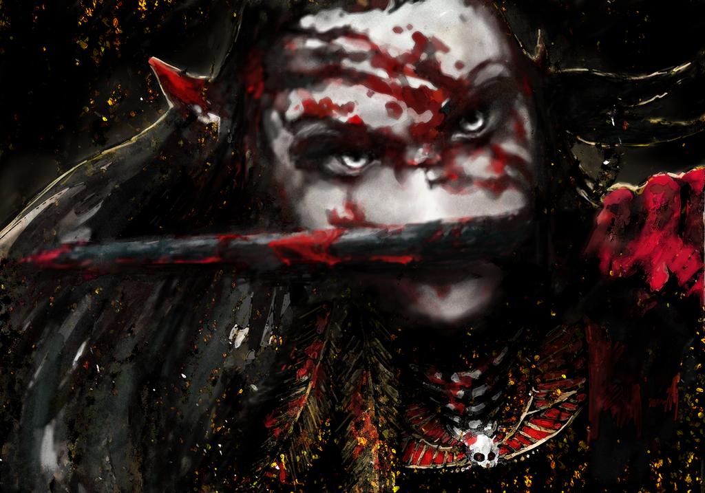 Druchii: Ilane by Negatic