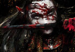 Druchii: Ilane by Marcellyne