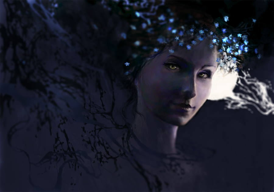 Forget-me-not by Negatic