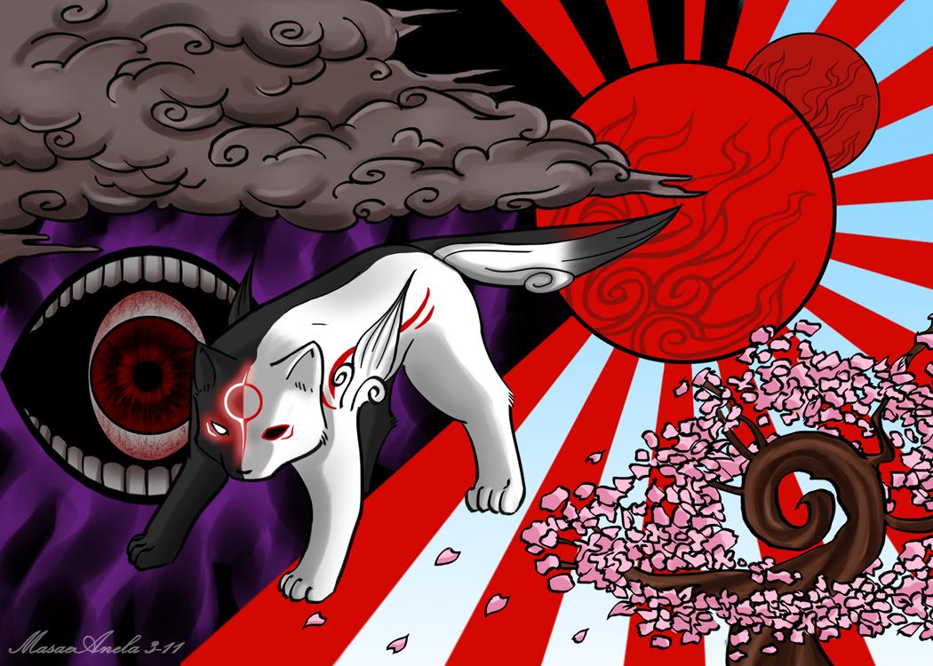 Chibiterasu - Light and Dark by Masae