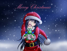 Merry Christmas Yoshi Gift by Masae