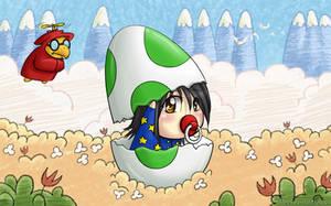 Yoshi's Island Baby Chibi! by Masae