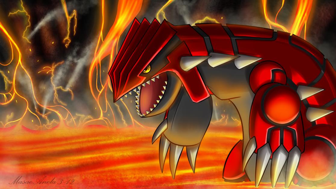most powerful Legendary Pokemon - Groudon