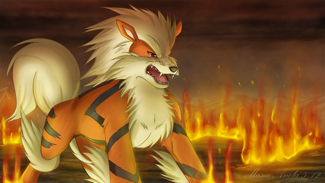 Arcanine by Masae