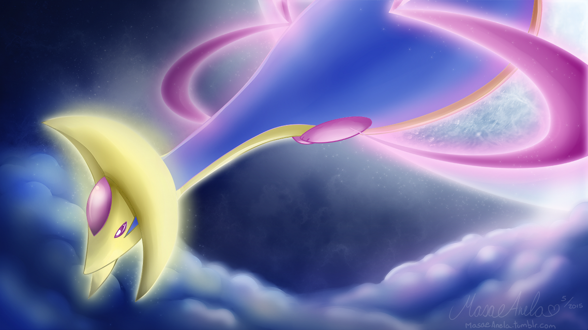Cresselia by Masae