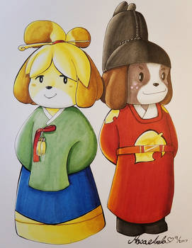 Animal Crossing Royalty