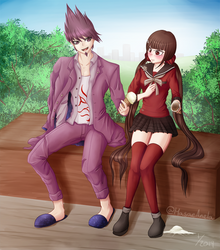 Kaito and Maki's Ice Cream by Masae