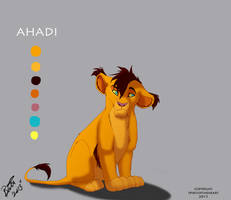 Ahadi (Cub) Color Scheme by BrittHyatt