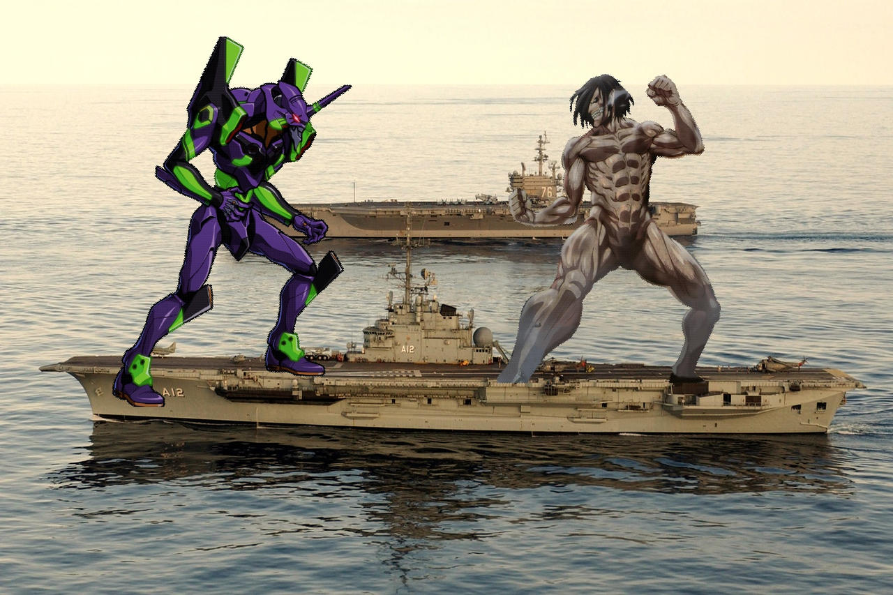 Evangelion vs titan