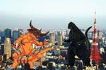 Godzilla Vs Greymon